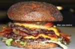 Flaming Burger Monster
