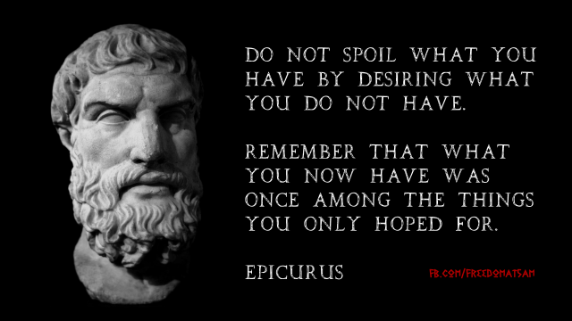 epicurus quote F5A
